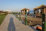дървени огради за плаж по поръчка
