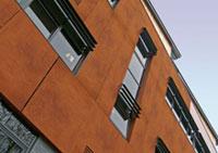 Окачени фасади от HPL