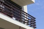 парапети за тераси от дърво и метал