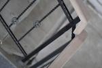 парапети за стълбища от дърво и ковано желязо по поръчка