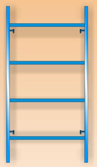 Основна Н-рамка за скеле