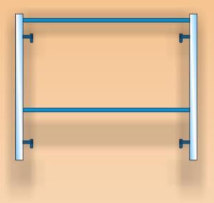 Парапетна рамка за скеле Последен етаж