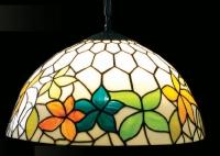 Витражни лампи