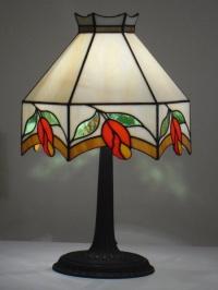 Лампа с витражи