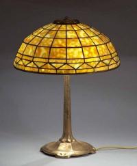 Лампа с витраж