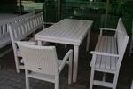 маси с 2 пейки и стол от дърво за механи и кръчми