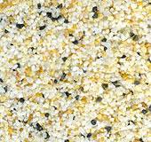 Мазилка съдържаща калибровани камъчета