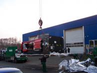 Преместване на големи машини