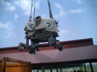 Преместване на тежка машина