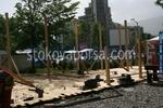 Дървена беседка за градината по поръчка