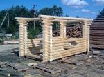 Дървени беседки за градина