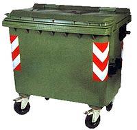 Пластмасов Контейнер за боклук 660 Литра