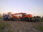 Професионално превозване на товари с извънгабаритни размери