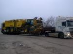 Превозване на извънгабаритни машини, съоръжения и други товари