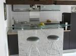 Кухненски плот от мрамор с избор на форма и размер