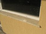 Подпрозоречни первази външни от материал мрамор