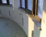 Външен подпрозоречен перваз от мрамор с избор на форма и размер