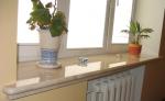 Външен подпрозоречен перваз по поръчка от мрамор