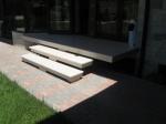 Проекти за стълби с травертинова облицовка