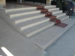 Изработка на стълби с облицовка от травертин