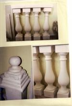 Балюстра от варовик с избор на форма и размер