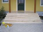 Проектиране и изграждане на стълби, облицовани с варовик