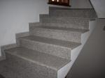 Проект за стълби, облицовани с гранит