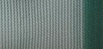 Защитна мрежа за сянка за хангари, 50%; 2 м; зелена