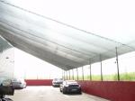 Защитни мрежи за сянка за паркинг