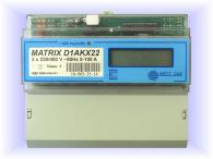 Трифазен електромер Matrix-D1AKX22