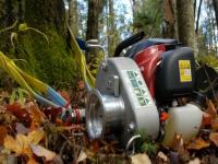 Мобилни лебедки за дърводобив - подем до 700 кг