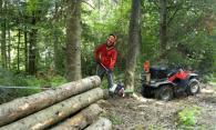 Бензинови мобилни лебедки за дърводобив - 1000кг