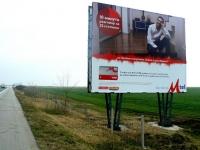 Проектиране и изграждане на мега билборд