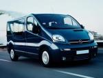 Трансфер с Opel Vivaro до аерогара Варна