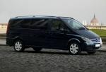 Извършване на трансфери Mercedes Viano до аерогара Пловдив