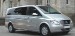 Извършване на трансфер с Mercedes Viano до летище Пловдив