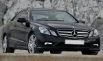 Извършване на трансфер с Mercedes E Class до летище Варна