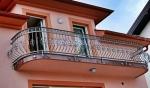иноксов парапет за балкон