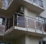 изграждане на иноксов парапет за тераса