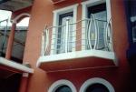 изработване на иноксов парапет за балкон