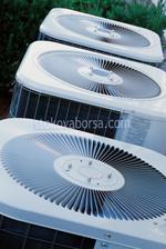 Bau einer großen Klimaanlage