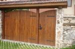 изкуствено състарени врати