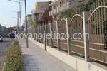 изработка на огради от ковано желязо на зидана основа