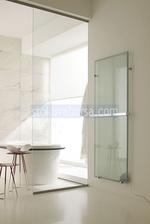 дизайнерски стъклен радиатор на ток