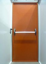 puerta de acero a prueba de fuego 1140x2150mm