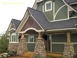 Облицоване на сгради с зелен сайдинг