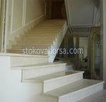 облицоване с гранит на стълби