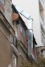 индустриална вентилационна система за ресторант