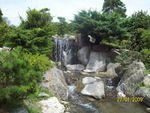 водопад от естествен камък