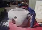 декоративен автомобил от стиропор